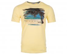 ONLY&SONS Pánské triko Dermot Ss Fited Tee Mellow Yellow As White Sample S