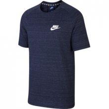 Nike M Nsw Av15 Top Knit Ss modrá L