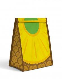 Just Mustard Fruit Sandwich Bag - Pineapple