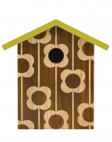 W & W Bird House - Engraced Flower OK041