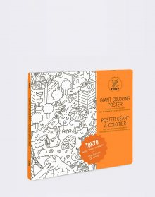 Omy Coloring Poster - Tokyo