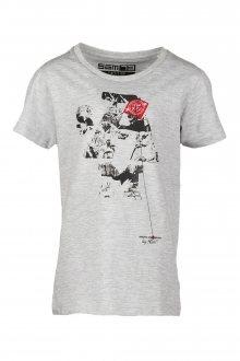 Sam 73 Chlapecké triko s krátkým rukávem Sam 73 šedá světlá 104-110
