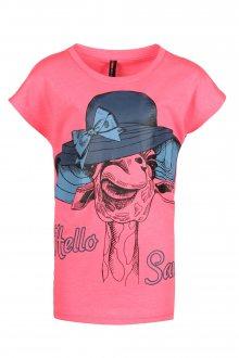 Sam 73 Dívčí triko Sam 73 růžová světlá 116