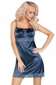 Livco Corsetti Elegantní košilka Yelena L/XL tmavě modrá