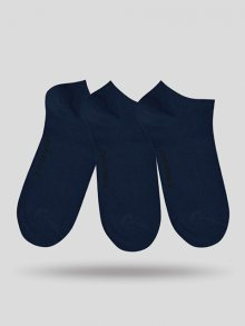 John Frank Set pánských ponožek - 3 ks JF3SS17S01_NAVY