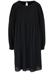 Černé šaty s průstřihy na ramenou VERO MODA View