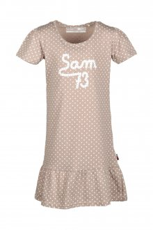 Sam 73 Dívčí šaty s puntíky Sam 73 béžová 116-122