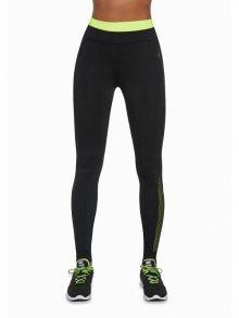 Bas Black Dámské sportovní legíny INSPIRE-black+green