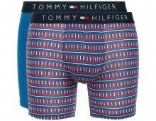 Boxerky 2 ks Tommy Hilfiger | Modrá Červená | Pánské | L