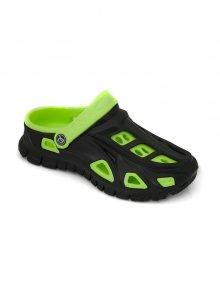 Aquaspeed Dětská obuv SHOES MIAMI BLACK/GREEN\n\n