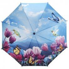Blooming Brollies Dámský deštník Tulips sonata walking stick style SLEVA