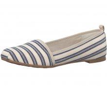 Tamaris Elegantní dámské boty 1-1-24668-28 Navy Stripes 37