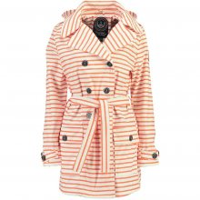 Geographical Norway Dámský trenčkot craquante lady 075_Coral/White\n					\n