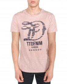 Triko Tom Tailor Denim | Růžová Béžová | Pánské | S