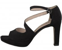 s.Oliver Dámské sandále Black 5-5-28323-20-001 38