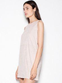 Venaton Dámské šaty VT071-beige\n\n