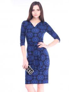 Laura Bettini Dámské šaty R126_318tp_blue print\n\n