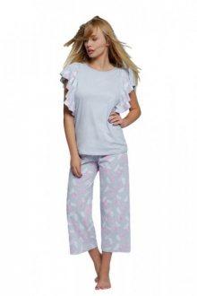Sensis Kim Dámské pyžamo XL šedo-růžová