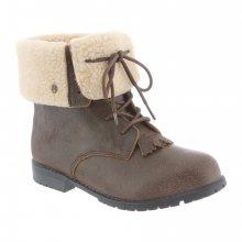 BEARPAW Dámská kotníčková obuv Jeanette_1_aw15 hnědá