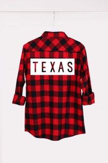 Košile Red-Black Texas