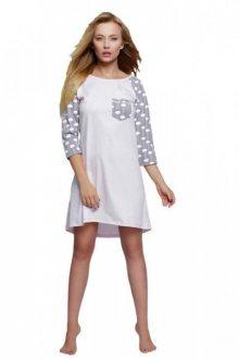 Sensis Chmurka Noční košile L/XL Růžový/vzor