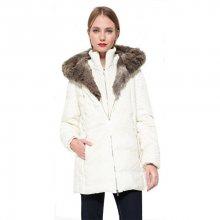 Desigual Dámský kabát Abrig Maca 17WWEW25 1001 38