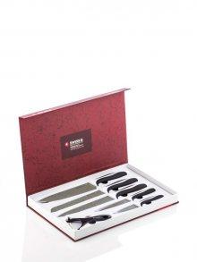InnovaGoods Sada 5 keramických nožů se škrabkou B1005125