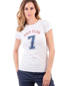 Polo Club Captain Horse Academy Dámské tričko 24684_BLANCO/WHITE