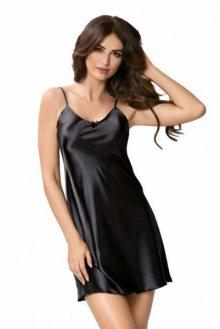 Donna Rita noční košilka black černá XXL černá
