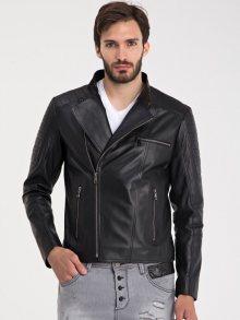 Iparelde Pánská kožená bunda ES110_Black\n\n