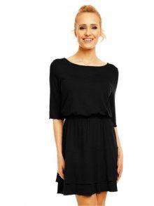 Lental Dámské šaty DRESS AMY 3-4 BLACK\n\n