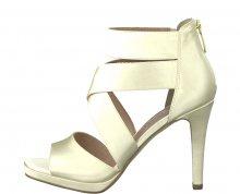 Tamaris Dámské sandále 1-1-28038-30-179 Champagne 37
