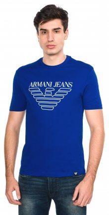 Triko Armani Jeans | Modrá | Pánské | XXL