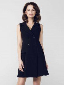 Peperuna Dámské šaty PE135_BLACK