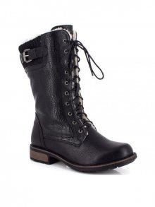 Kimberfeel Dámské kotníčkové boty DELPHIA_BLACK\n\n