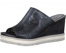 Tamaris Dámské pantofle 1-1-27236-20-824 Navy Metallic 38