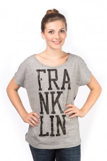 Franklin&Marshall Dámské tričko TSWAL672M_aw15 šedá\n\n