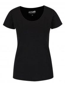 Černé basic tričko s krátkým rukávem Haily\'s Mona