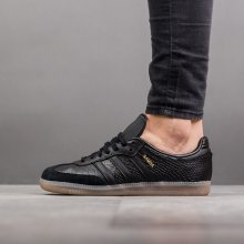 Boty - adidas Originals | ČERNÁ | 36 2/3 - Dámské boty sneakers adidas Originals Samba BZ0620