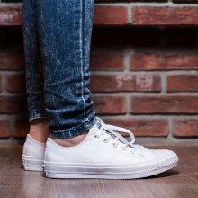 Boty - Converse | BÍLÝ | 36 - DÁMSKÉ BOTY sneakers Converse Chuck Taylor All Star II OX 150154C