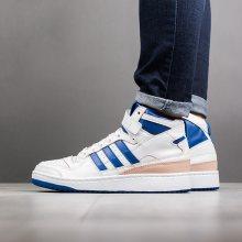 Boty - adidas Originals | MODRÁ | 40 - Dámské boty sneakers adidas Originals Forum Mid BY4412