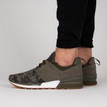 Boty - New Balance | ZELENÝ | 42 - Pánské boty sneakers New Balance MS574DCG