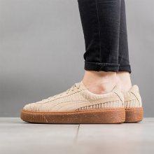 Boty - Puma | HNĚDÝ | 36 - Dámské boty sneakers Puma Basket Platform Valentine\'s Pack 366360 01