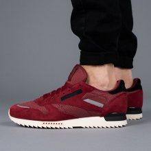 Boty - Reebok Classic | CZERWONY | 42 - Pánské boty sneakers Reebok Classic Leather Ripple BS9791