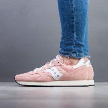 Boty - Saucony | RŮŽOVÝ | 36 - Dámské boty sneakers Saucony Dxn Vintage Trainer S60369 23