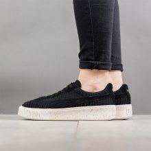 Boty - Puma | ČERNÁ | 37 - Dámské boty sneakers Puma Basket Platform Ow Wns 364090 01
