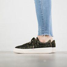 Boty - Puma | ZELENÝ | 36 - Dámské boty sneakers Puma Basket Platform Vr 364092 01