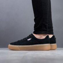 Boty - Puma | CZARNY/SZARY | 36 - Dámské boty sneakers Puma Suede Platform Jewel Jr 365131 03