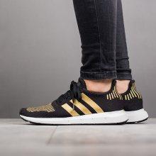 Boty - adidas Originals | ČERNÁ | 36 2/3 - Dámské boty sneakers adidas Originals Swift Run W CG4145