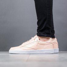 Boty - Reebok Classic | ORANŽOVÝ | 38 - Dámské boty sneakers Reebok Club C 85 Patent BS9778